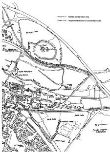 Map of St Cross