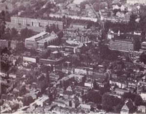 aerial photo of Winchester & Jewry Street