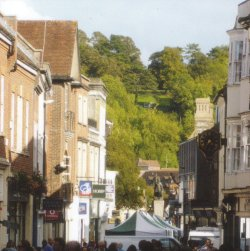 High Street and St Giles Hill