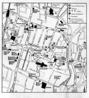 Winchester Town Map